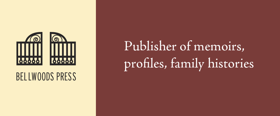 Publisher of memoirs, profiles, family histories